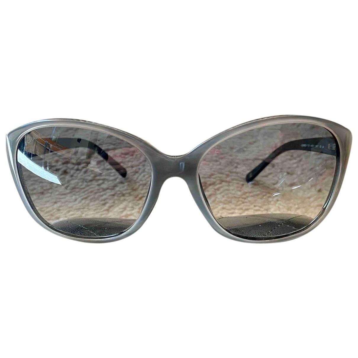 Chanel N Grey Sunglasses for Women N