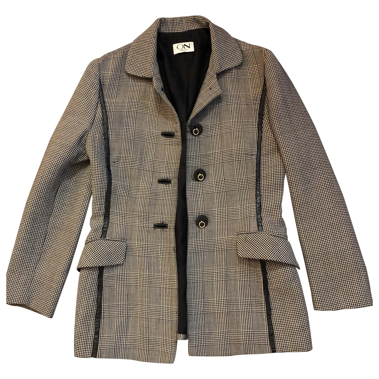 Non Signé / Unsigned \N Multicolour Wool jacket for Women 10 UK