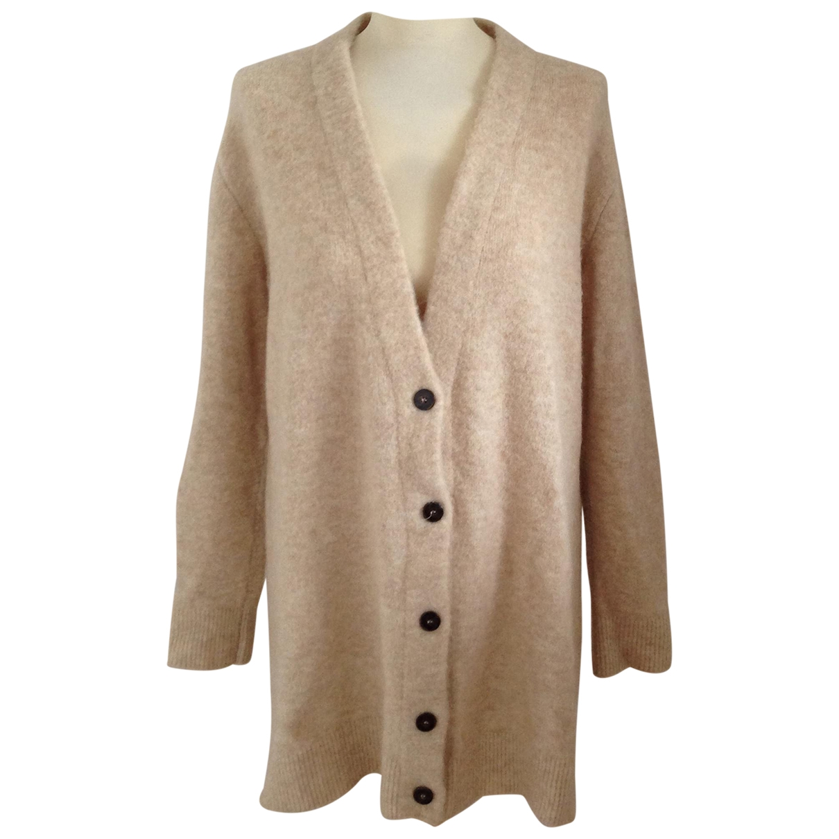 Non Signe / Unsigned \N Pullover in  Beige Wolle