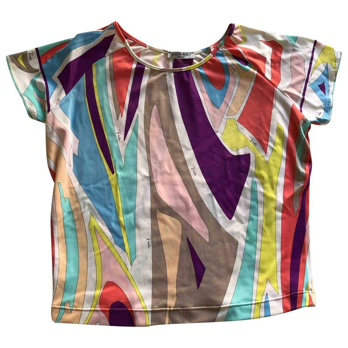 Emilio Pucci \N Top in  Bunt Synthetik