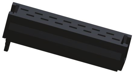 TE Connectivity 14-Way IDC Connector Plug for Cable Mount, 2-Row (10)