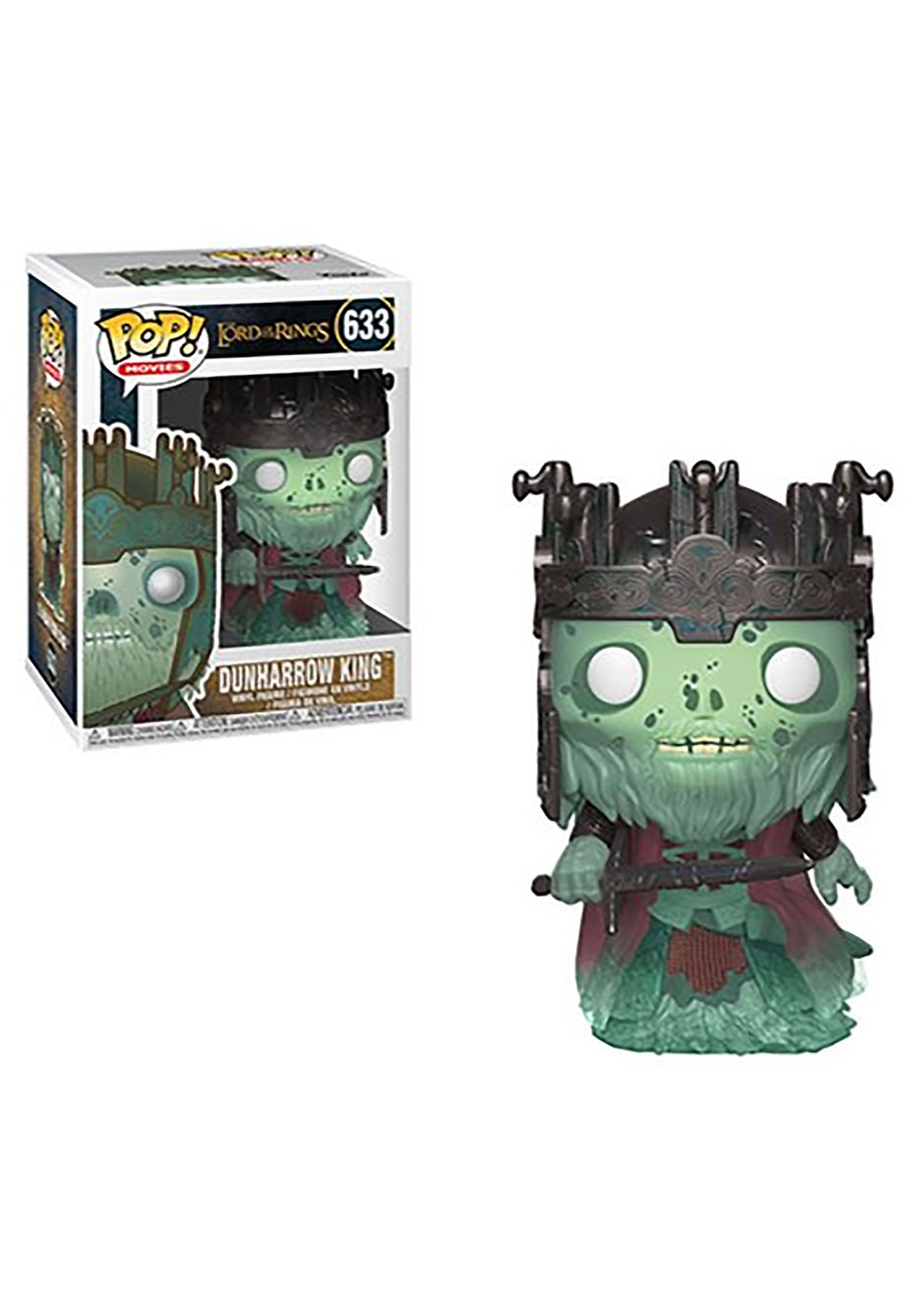 Pop! Movies: Dunharrow King- The Lord of the Rings