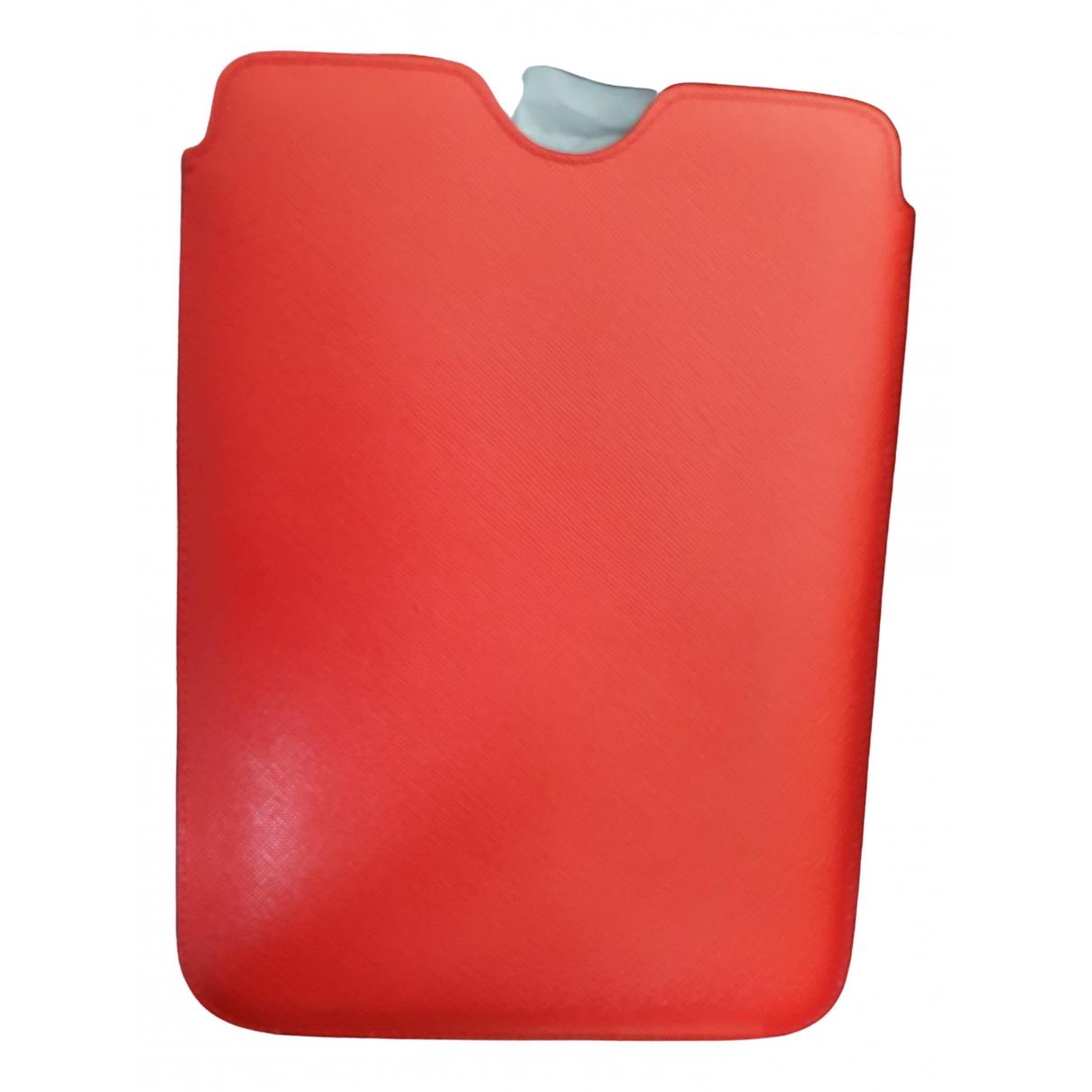Prada - Accessoires   pour lifestyle en cuir - rouge