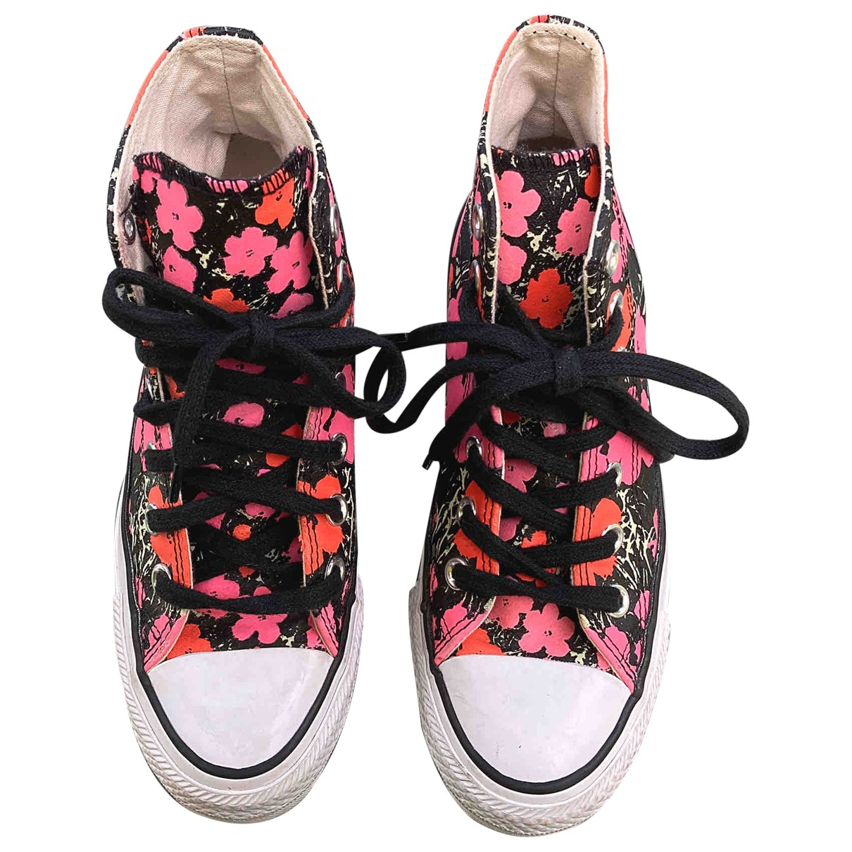Converse \N Pink Cloth Trainers for Women 3 UK