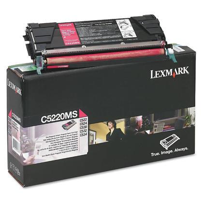 Lexmark C5220MS cartouche de toner du programme retour originale magenta