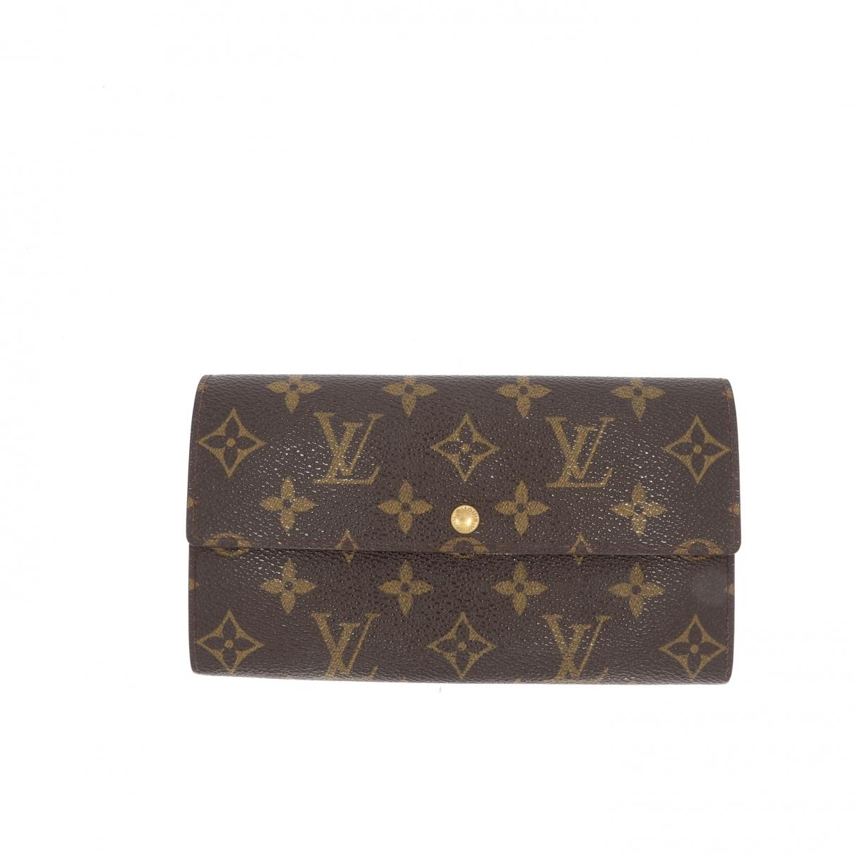 Louis Vuitton \N Brown wallet for Women \N