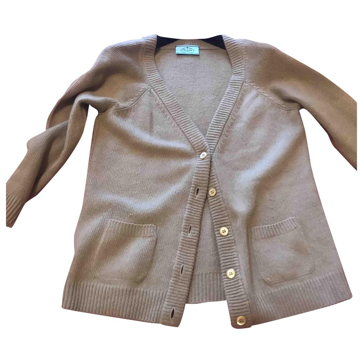 Prada \N Pullover in  Kamel Wolle