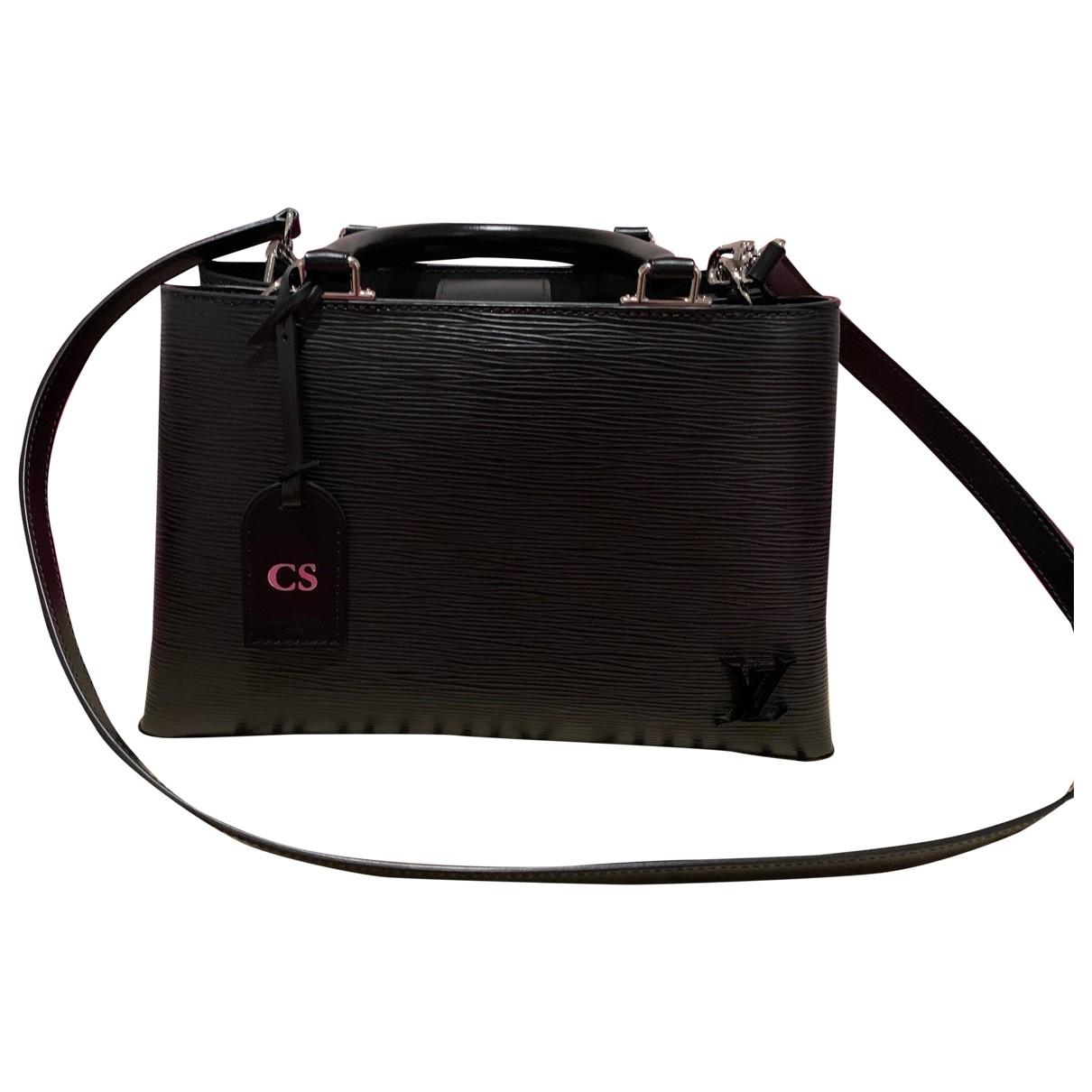 Louis Vuitton - Sac a main Kleber pour femme en cuir - noir