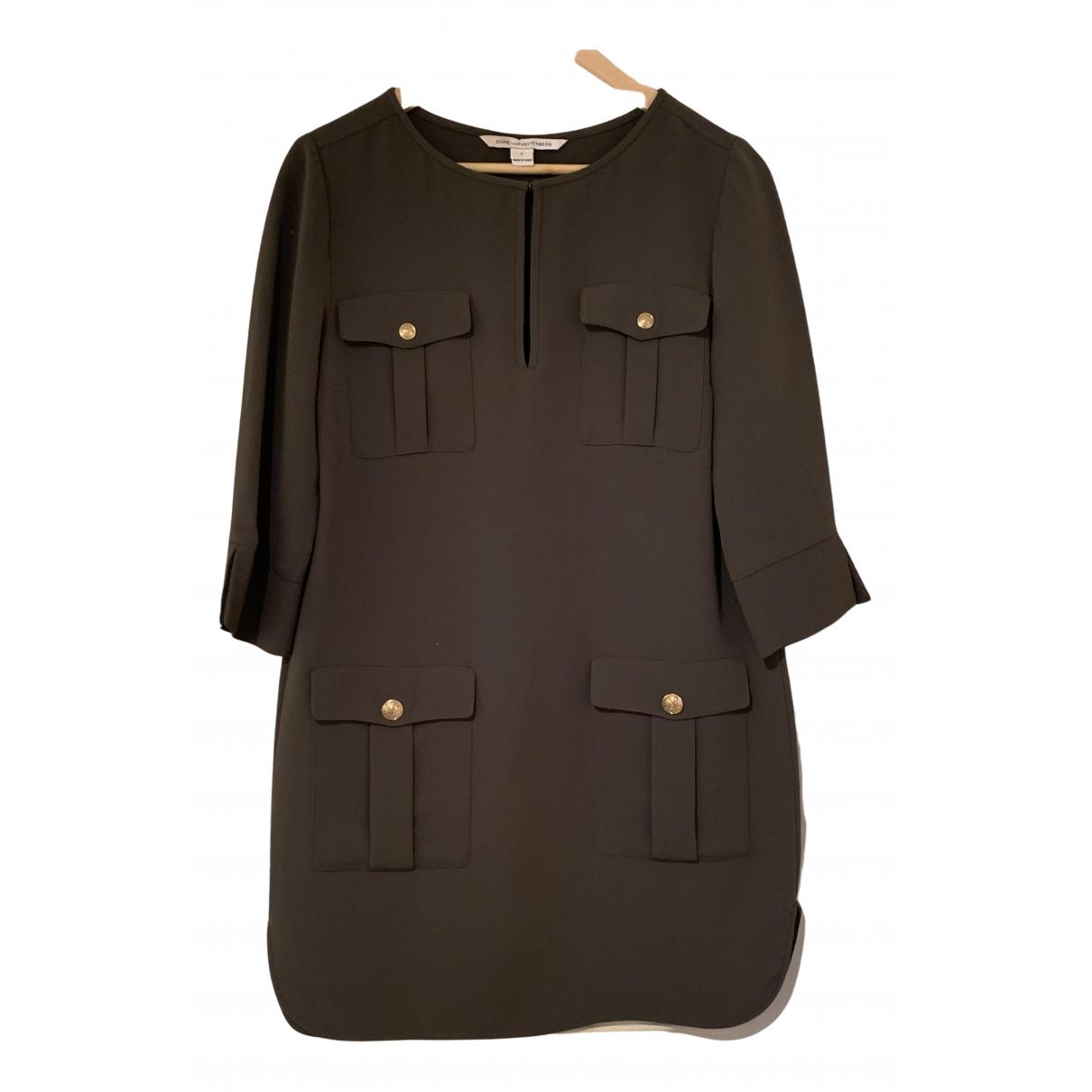 Diane Von Furstenberg - Robe   pour femme - vert
