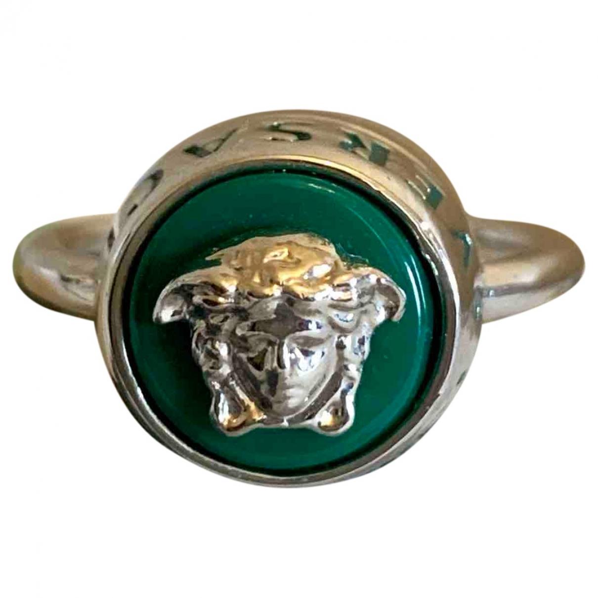 Versace - Bague Medusa pour femme en metal - argente