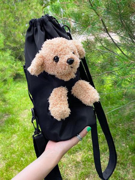 Milanoo Sweet Lolita Bag Teddy Puppet Toy Cross Body Bag