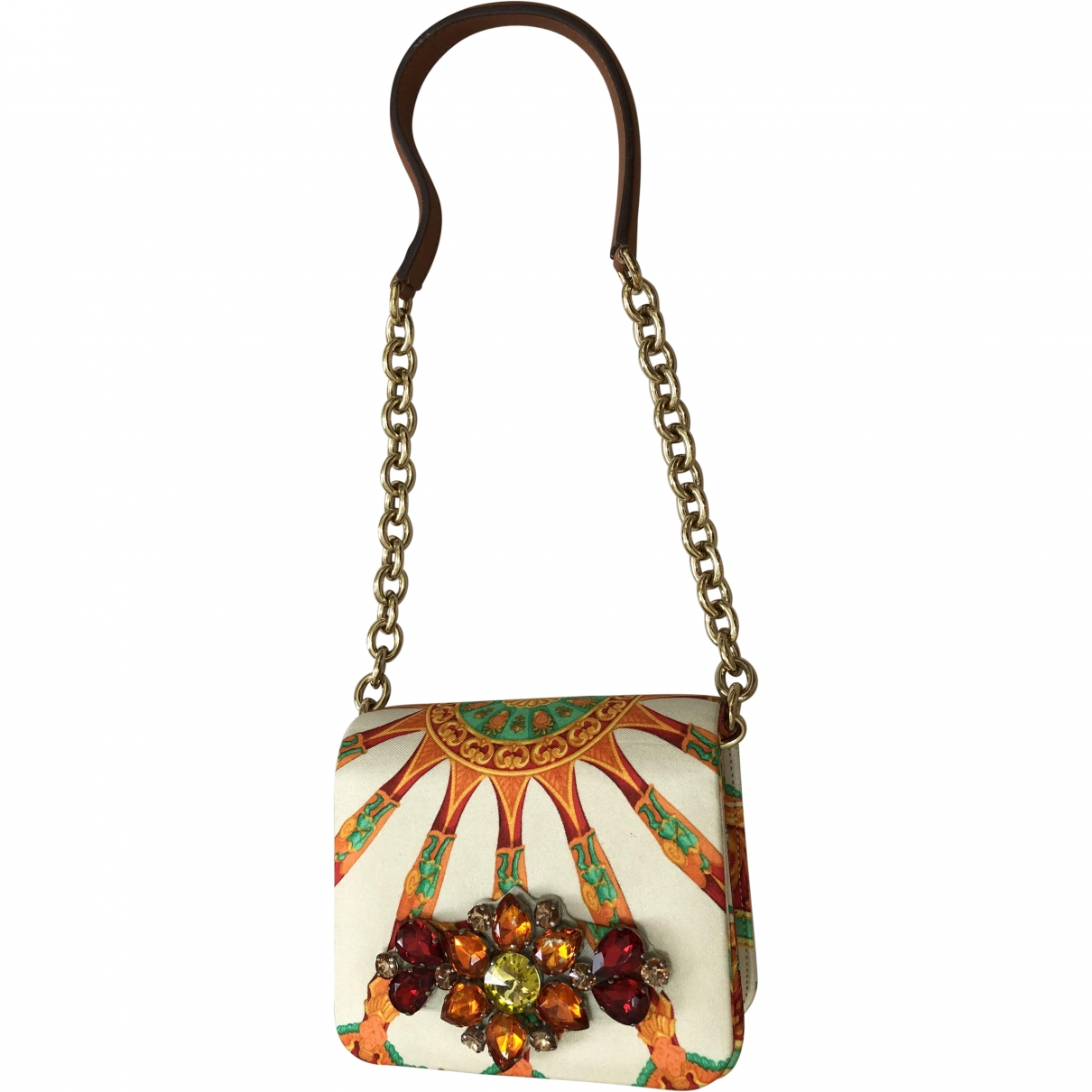Dolce & Gabbana \N Beige Silk Purses, wallet & cases for Women \N