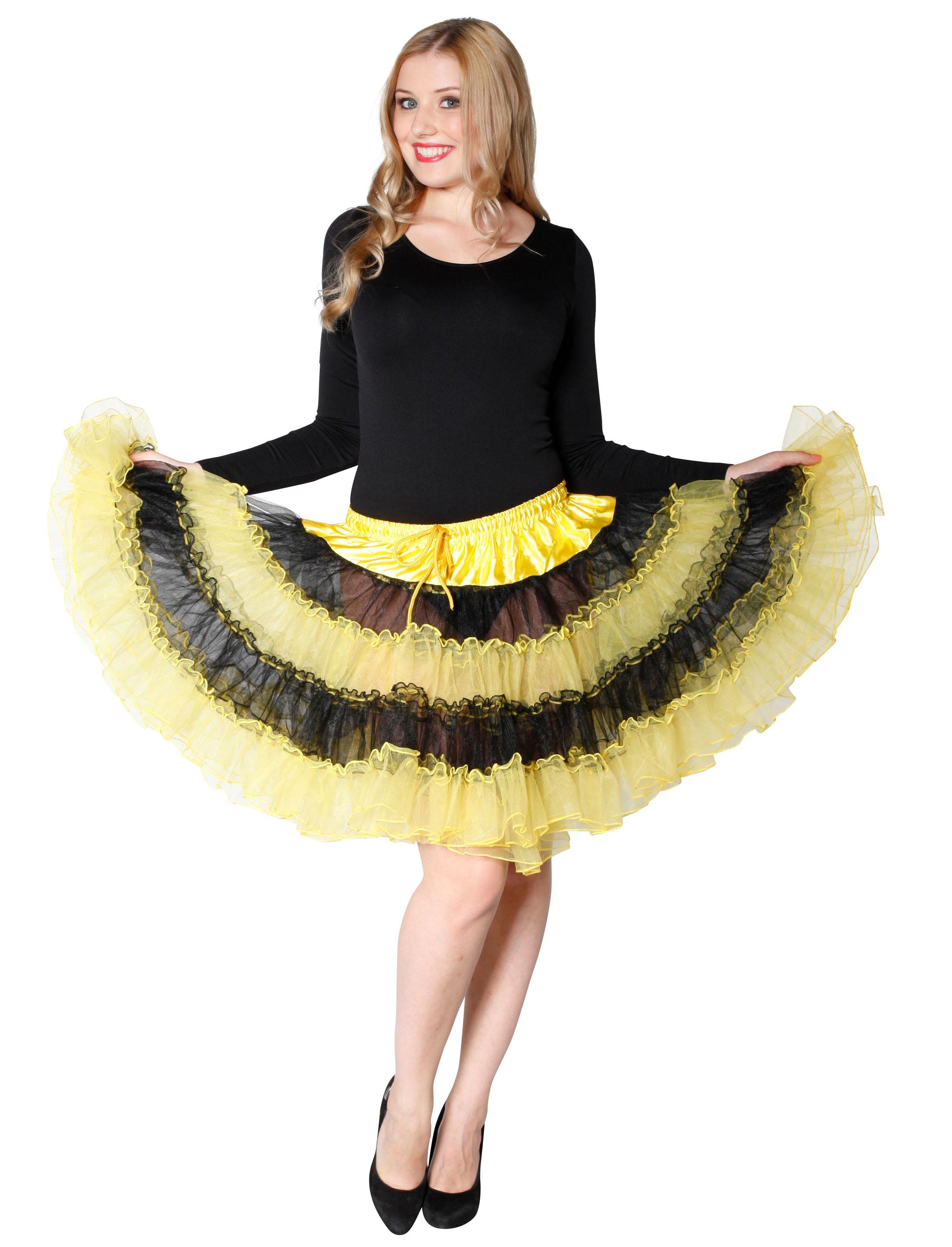 Petticoat de luxe Biene Farbe: gelb