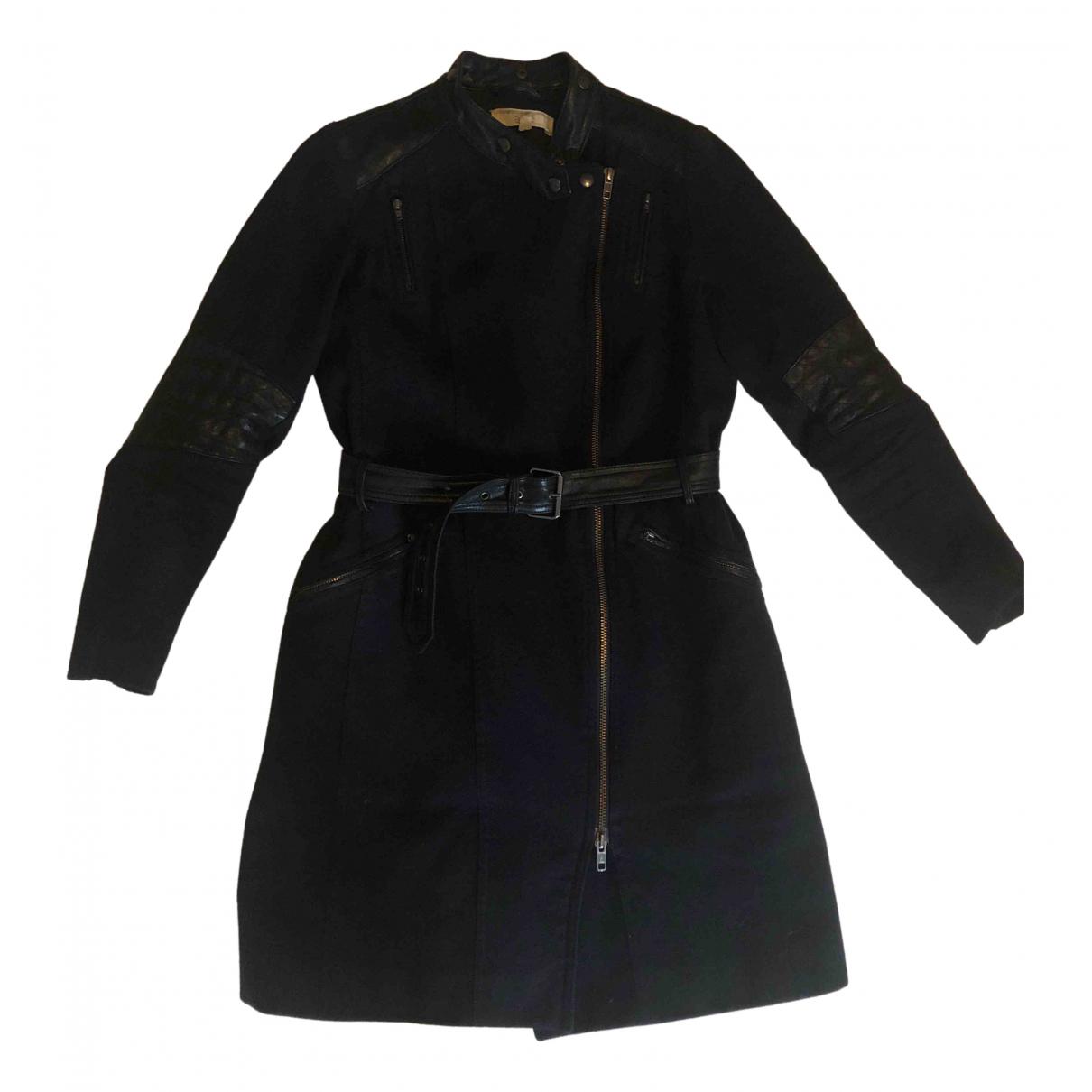 Vanessa Bruno Athe \N Navy Wool coat for Women 36 FR