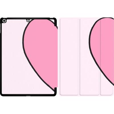 Apple iPad 9.7 (2018) Tablet Smart Case - Half Heart Left von caseable Designs