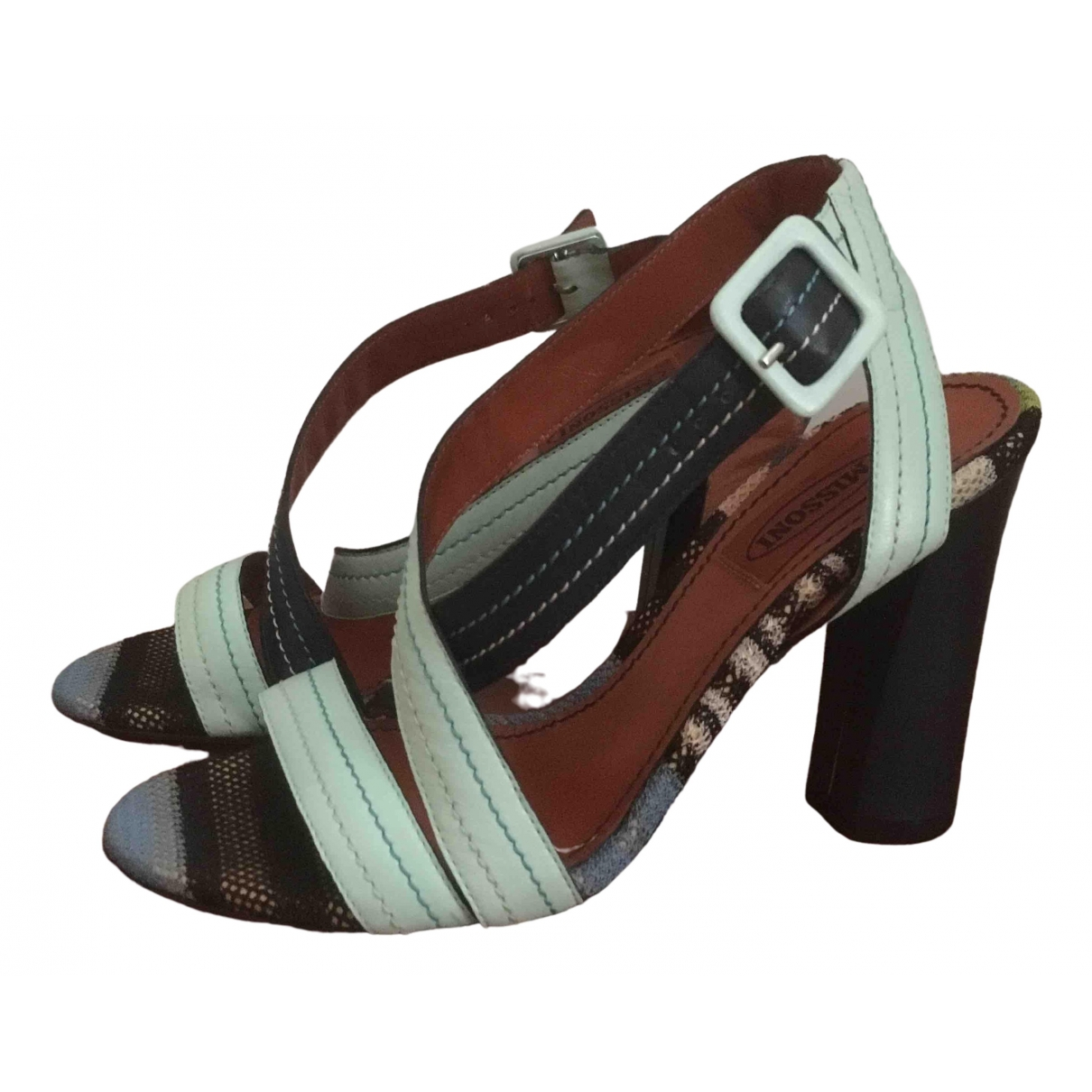 Sandalias de Cuero Missoni