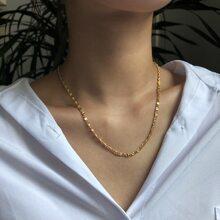 Simple Metal Necklace