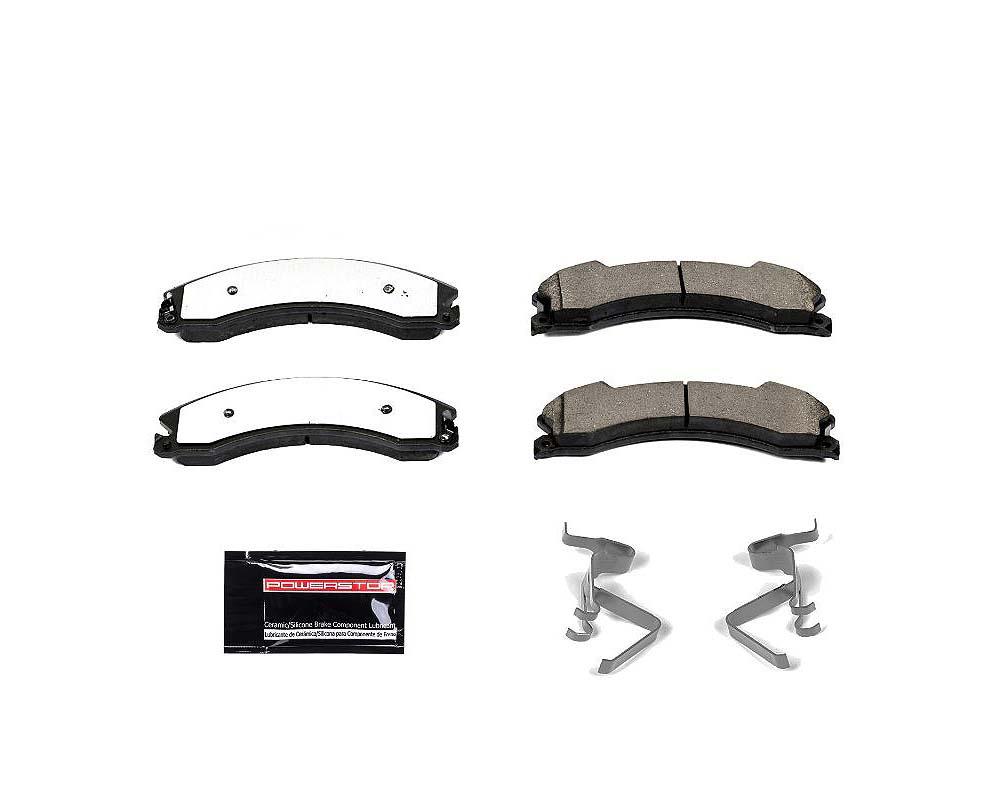 Power Stop Z36-1565 Z36 Truck & Tow Brake Pads w/Hardware Front or Rear Chevrolet Silverado 2500 HD 2012-2019