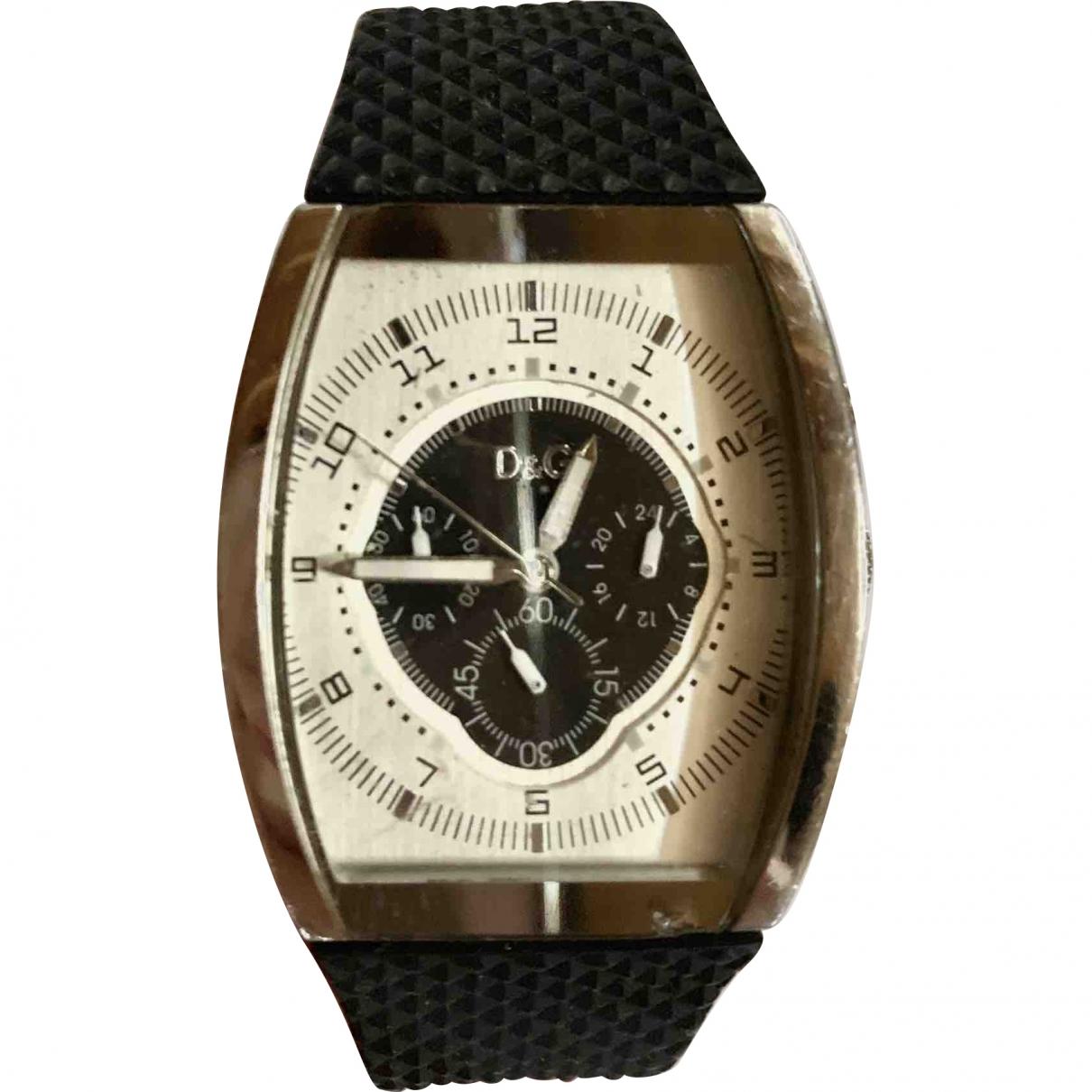 D&g \N Navy Steel watch for Men \N
