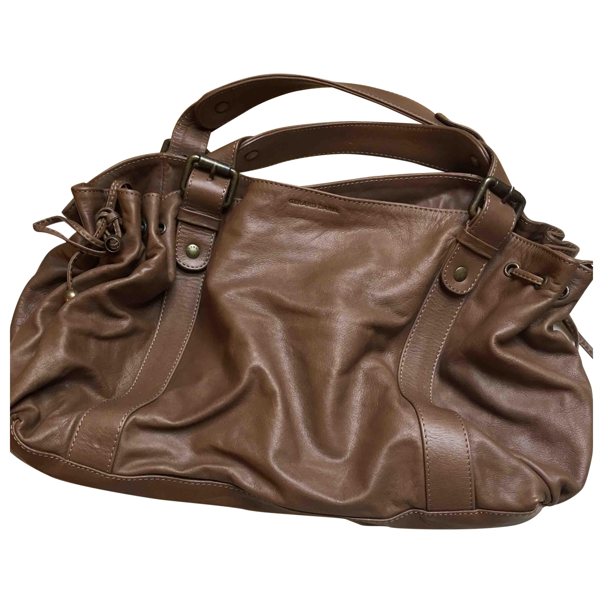 Gerard Darel 24h Brown Leather handbag for Women \N