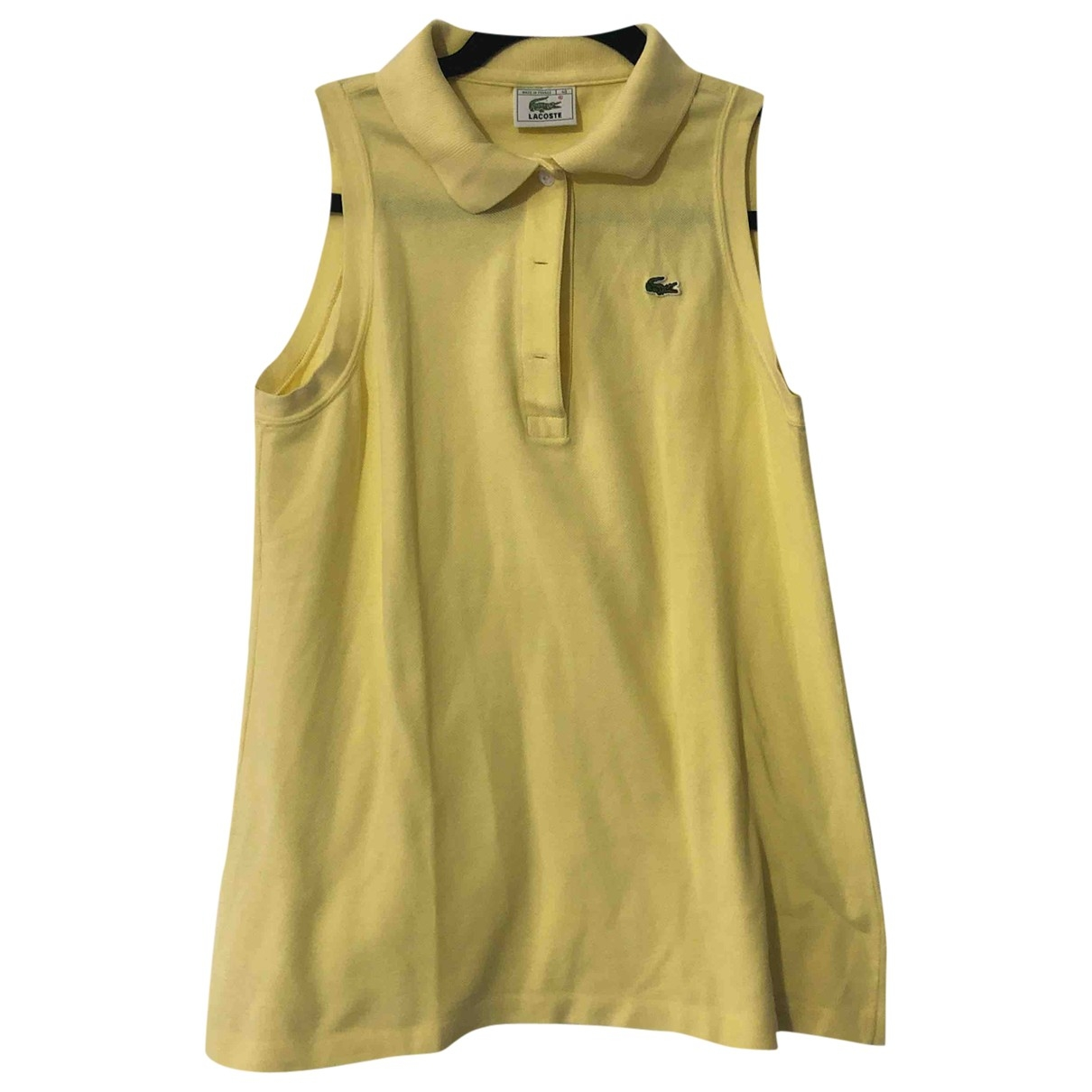 Lacoste \N Yellow Cotton  top for Women 40 IT