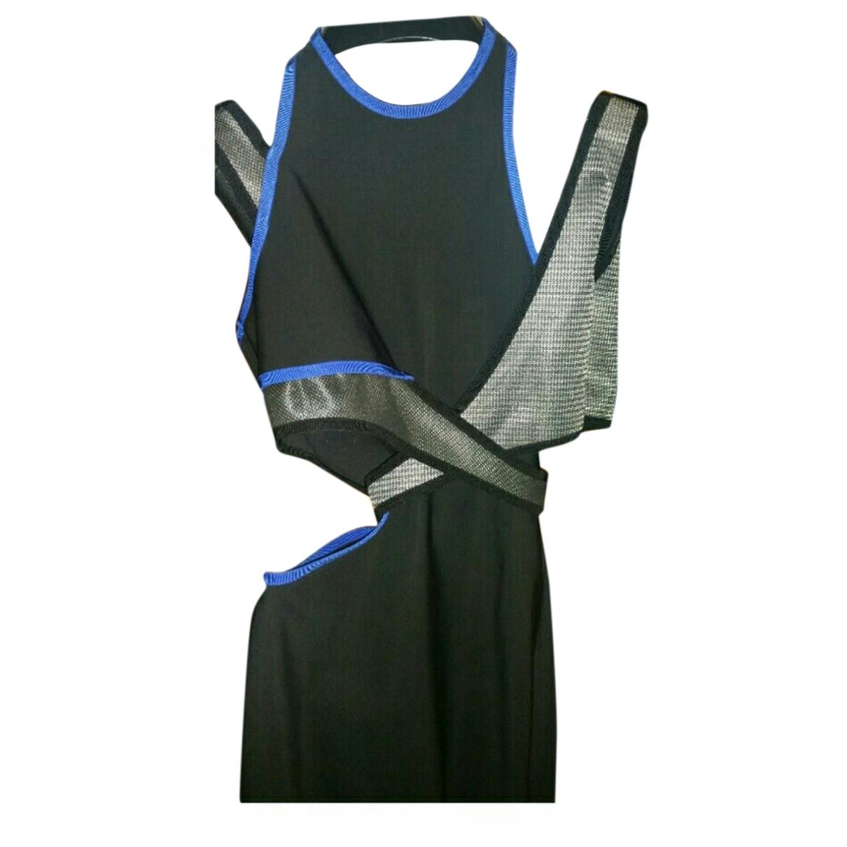 Alexander Wang Pour H&m \N Kleid in  Schwarz Synthetik