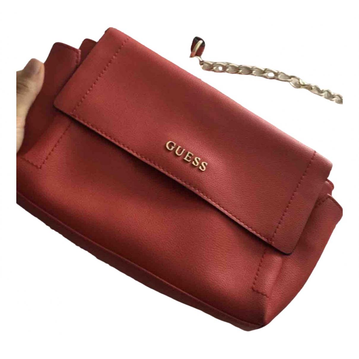 Guess \N Red Fur handbag for Women \N