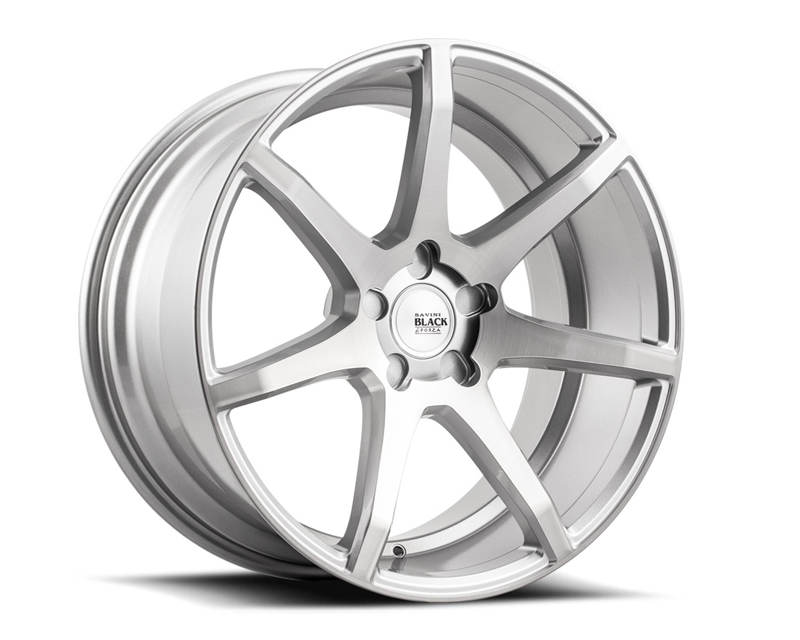 Savini BM10-20085508R3263 di Forza  Brushed Silver BM10 Wheel 20x8.5 5x108 32mm