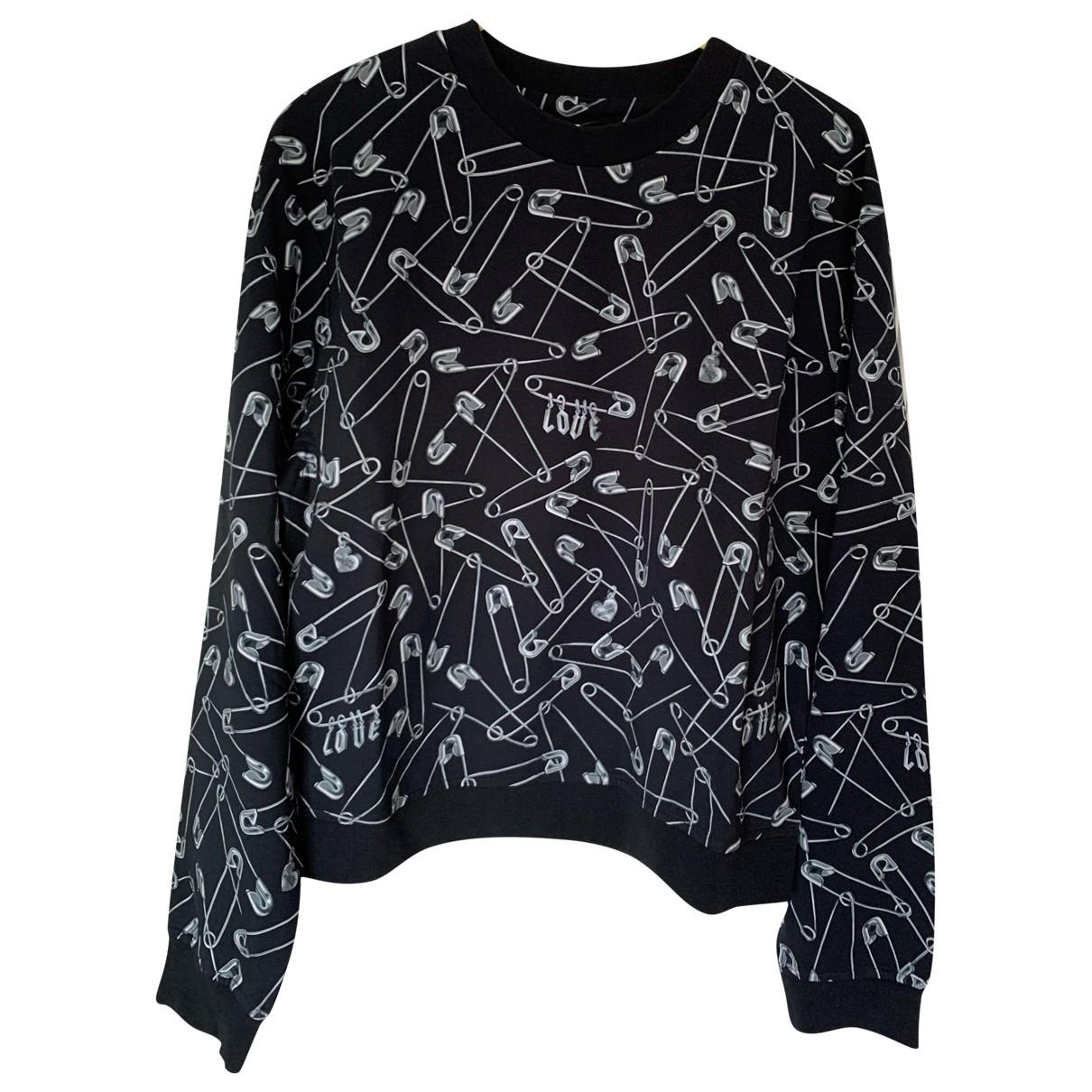 Moschino Love \N Black Cotton  top for Women 10 UK