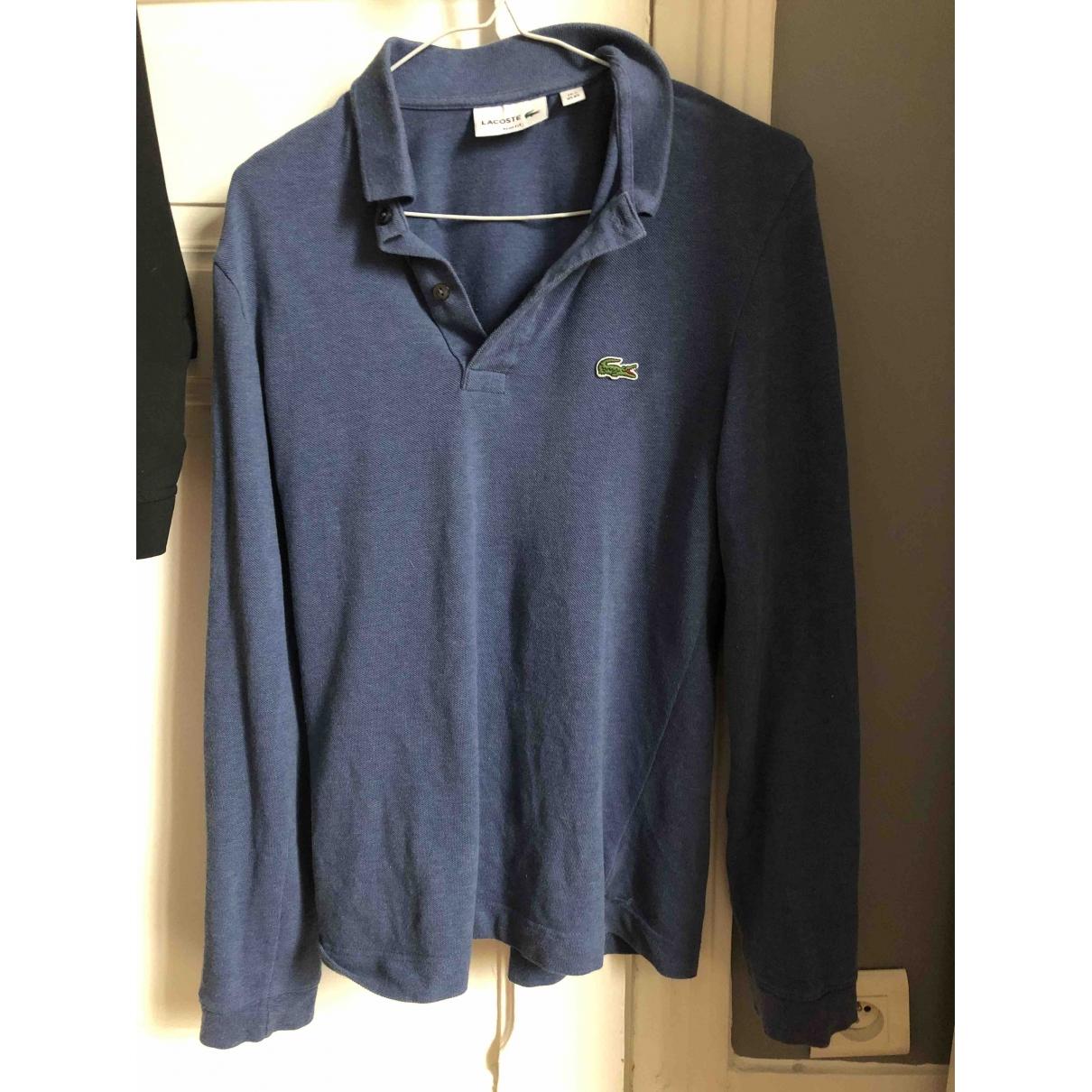 Lacoste \N Poloshirts in  Blau Baumwolle