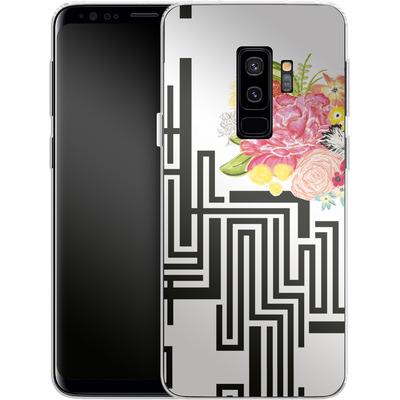 Samsung Galaxy S9 Plus Silikon Handyhuelle - Michi Garden von Khristian Howell