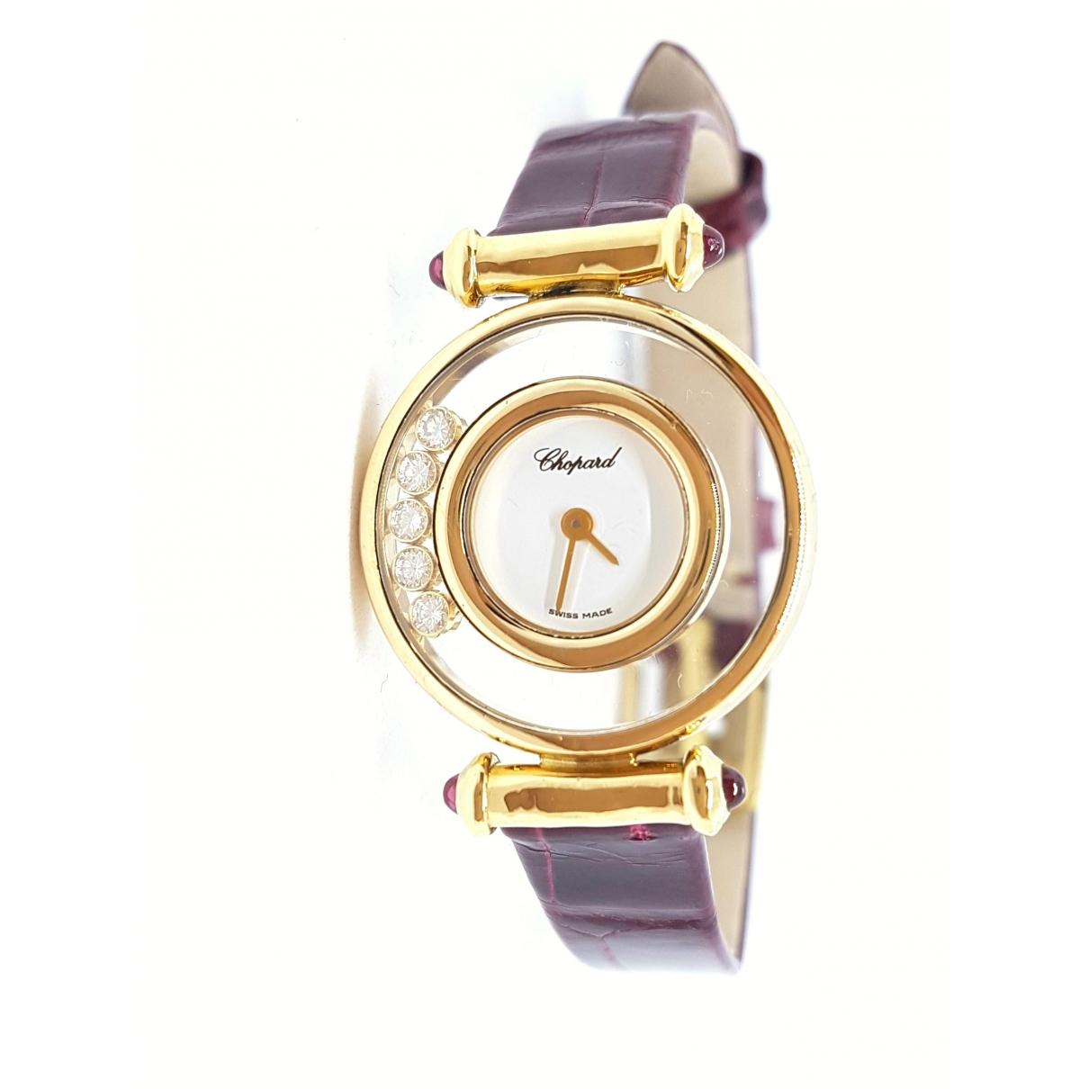 Chopard Happy Diamonds Uhr in  Gold Gelbgold