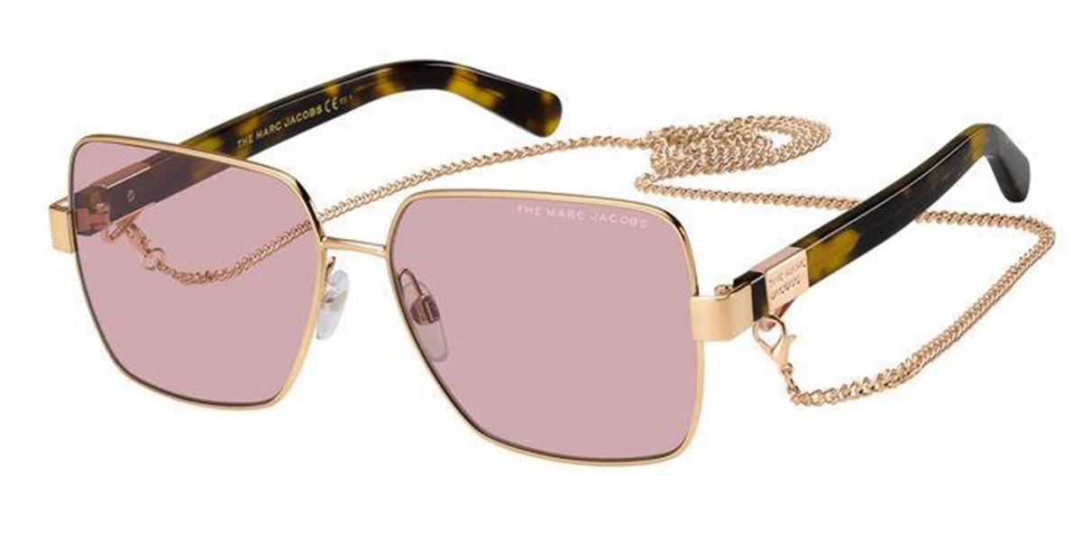 Marc Jacobs MARC 495/S DYE/U1 Women's Sunglasses Gold Size 58