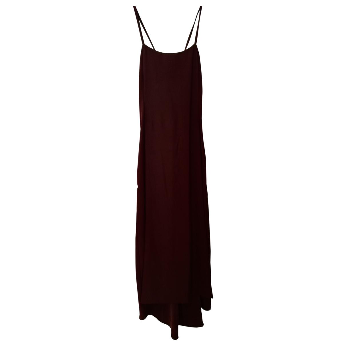 Vince \N Kleid in  Braun Baumwolle - Elasthan