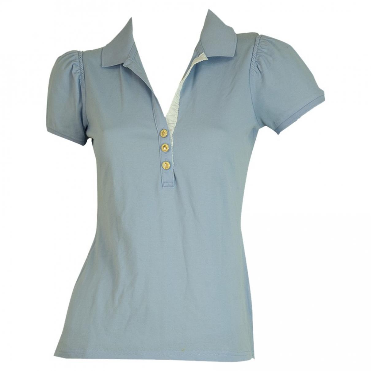 Moncler \N Blue Cotton  top for Women XS International