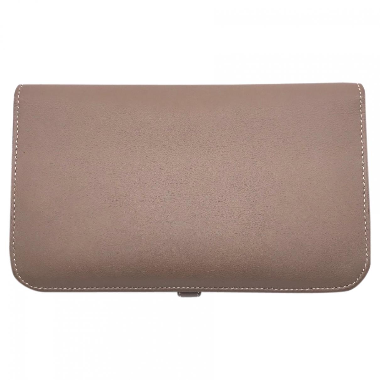 Hermès Dogon Brown Leather wallet for Women \N