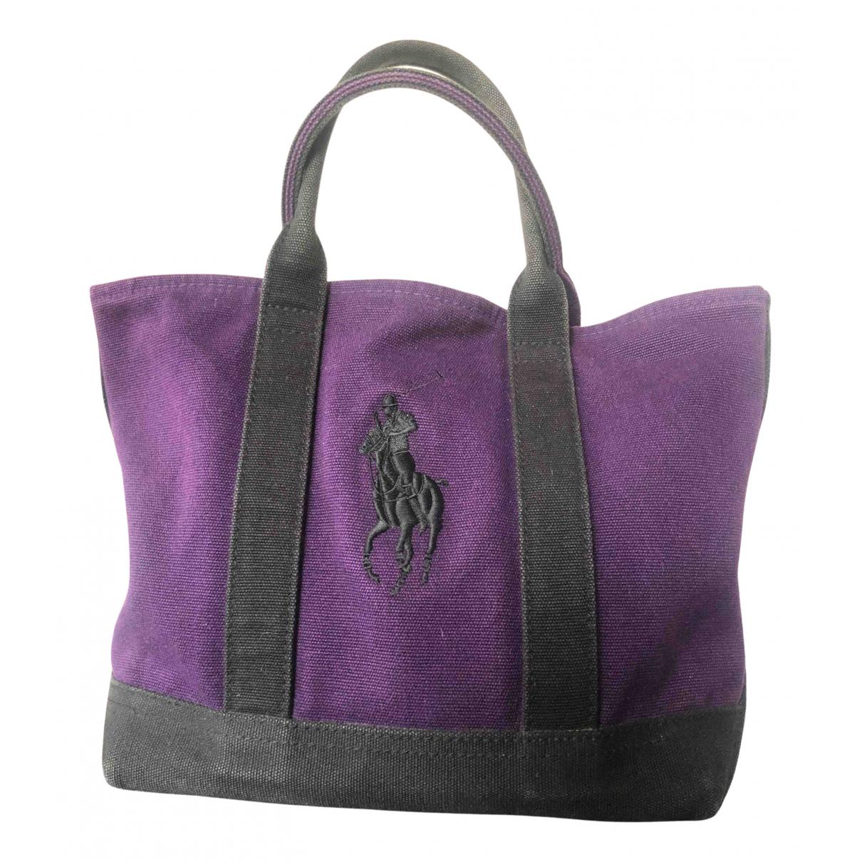 Polo Ralph Lauren N Purple Cloth handbag for Women N