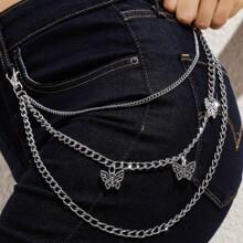 Butterfly Layered Waist Chain Belt