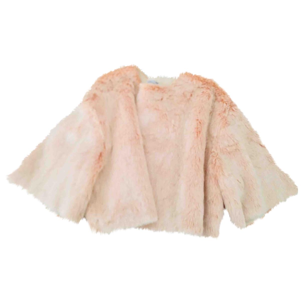 Zara \N Top in  Rosa Polyester