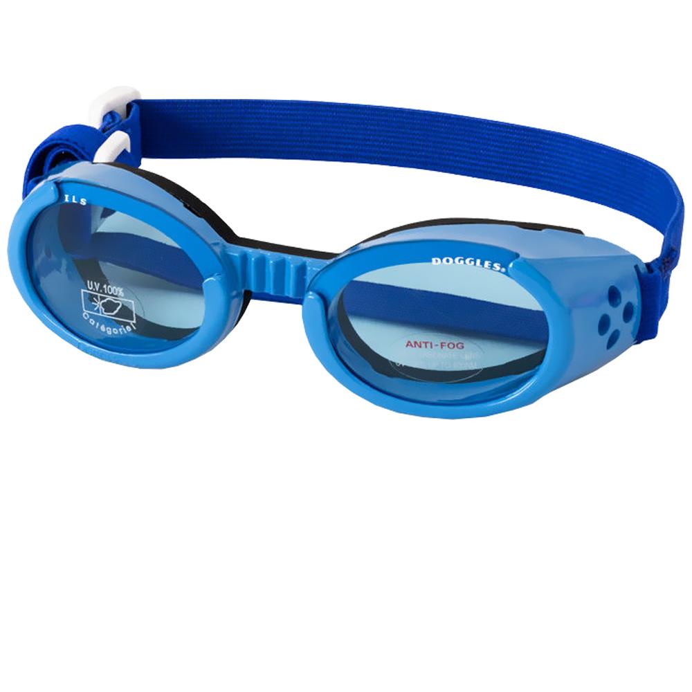 Doggles Originalz Blue Frame Blue Lens - Medium