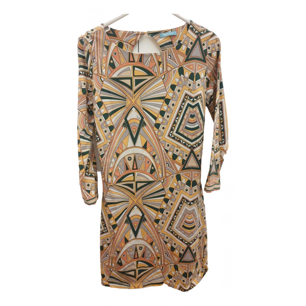 Emilio Pucci \N Kleid in  Bunt Baumwolle - Elasthan