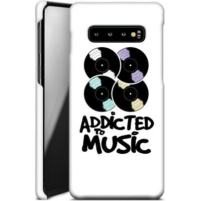 Samsung Galaxy S10 Plus Smartphone Huelle - Addicted To Music von Claus-Peter Schops