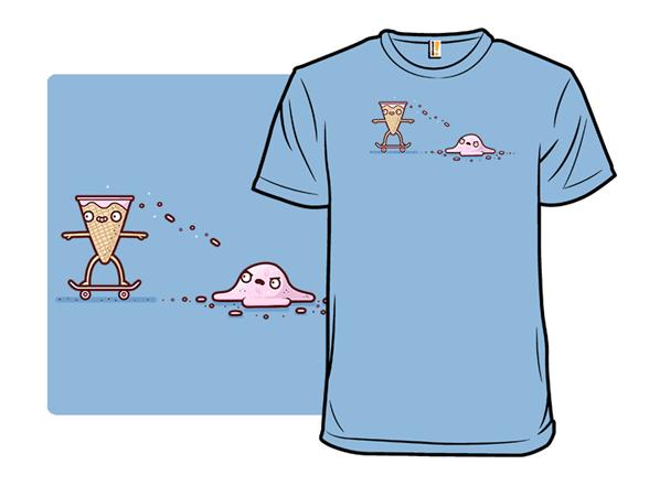 Ice-cream Skate T Shirt