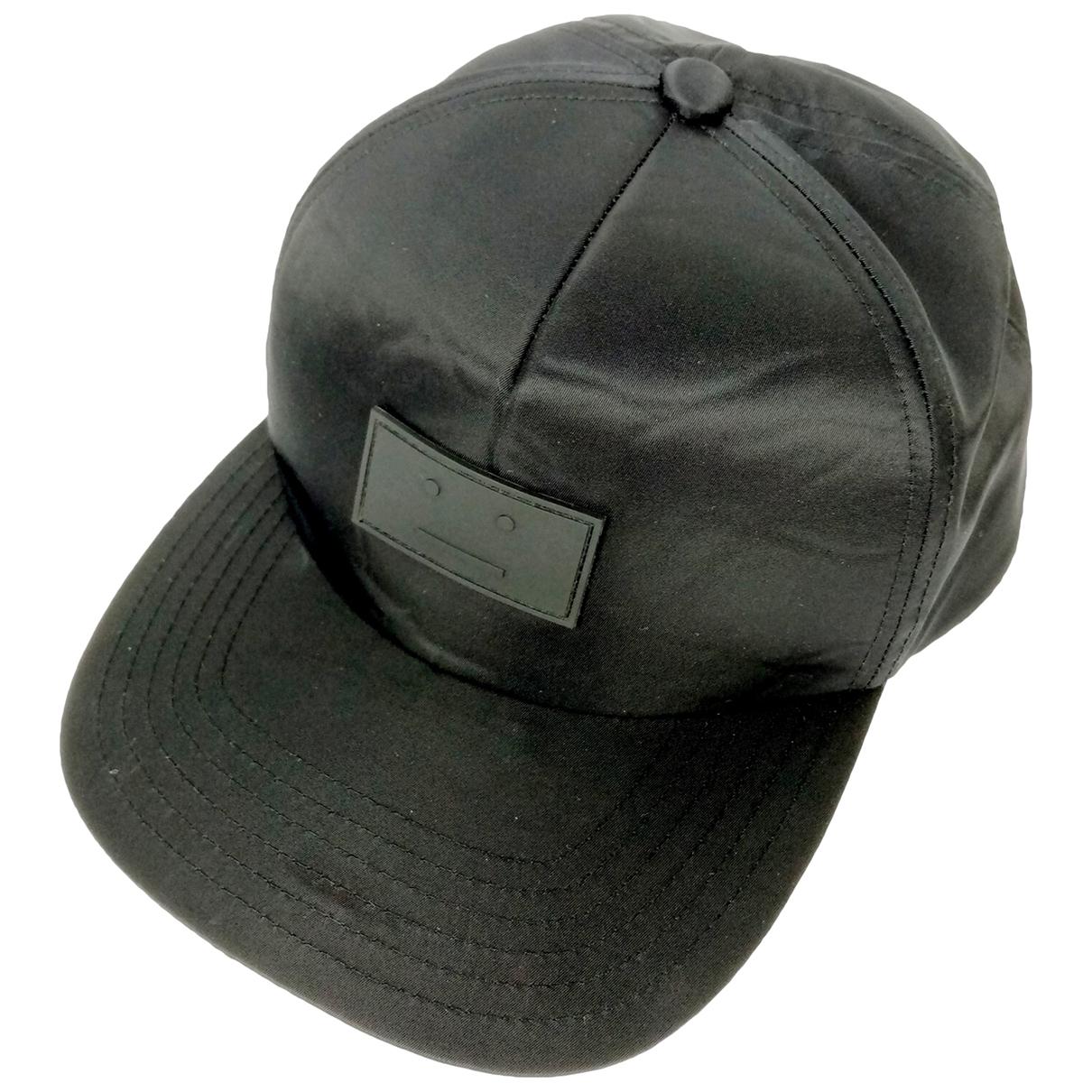 Acne Studios - Chapeau & Bonnets   pour homme - noir