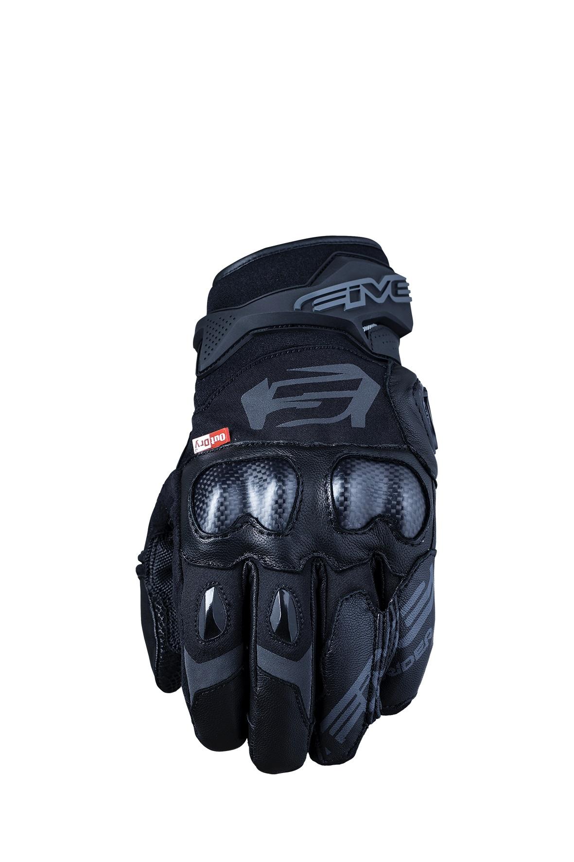 Five X-Rider WP Guantes Motorista Negros XL