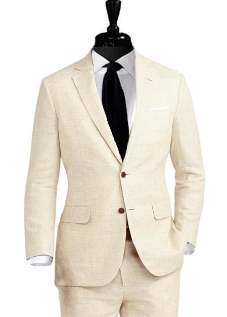 Alberto Nardoni 2 Button Linen Suit Coming September/1/2017