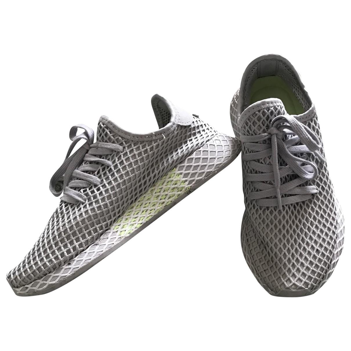 Adidas Deerupt Runner Sneakers in  Grau Polyester