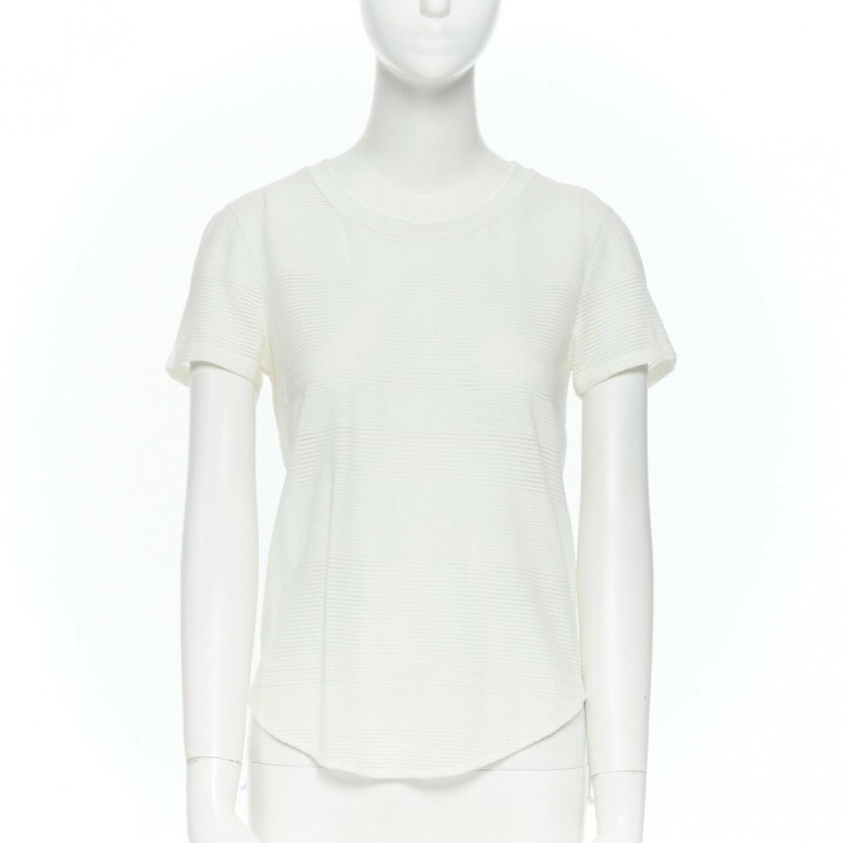 3.1 Phillip Lim - Top   pour femme en coton - blanc