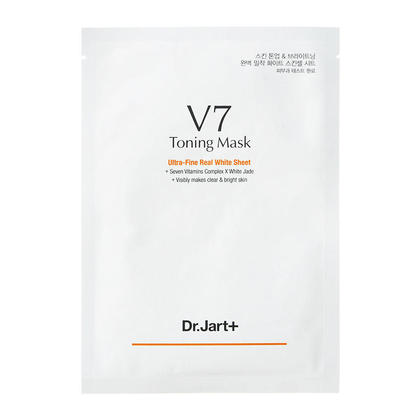 Dr Jart+ V7 Toning Mask Ultra-Fine Real White Sheet Mask 30g 1Pc
