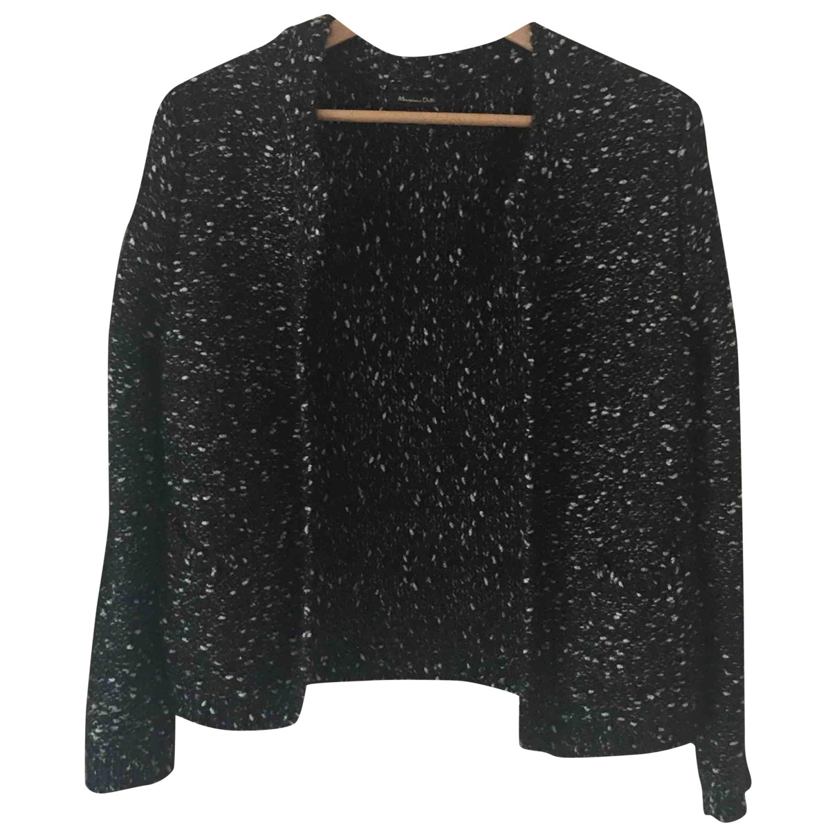 Massimo Dutti \N Black Wool Knitwear for Women L International